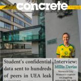 Profile for Concrete - UEA's official student newspaper