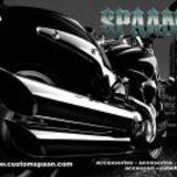 Supports de guidon de 8,9 cm Yamaha V-Star Hon-da VTX Su-zu-ki Boulevard Kawa-saki VN 900