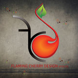 Flaming Cherry Design