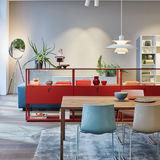 3107 Fritz Hansen Leder Dunkelbraun Abnehmbar Design & Stil Sitzmöbel Unter Der Voraussetzung Arne Jacobsen Stuhl No