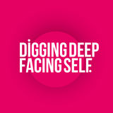 Digging Deep, Facing Self Course Anthologies