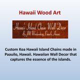 Profile for Hawaiian Island Chain Wall Decor