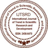 Profile for International Journal of Trend in Scientific Research and Development - ISSN: 2456-6470