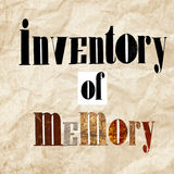 Profile for Inventory of Memory