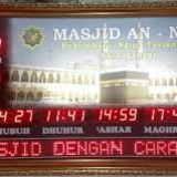 Profile for Jam Digital Masjid Led 0895-3575-22825