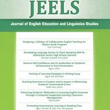 JEELS - Journal of English Education and Linguistics Studies