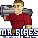Mr. Pipes Plumbing & Heating Logo