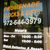 Promenade Clocks and Gifts