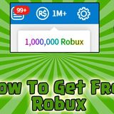 Roblox To Get Free Robux
