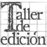 Taller de Edición
