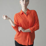 d8c4ffa132ea4 The hepburn button down shirts a prominent silk fashion by VAUGHAN ...
